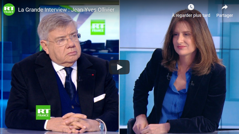 RT – La Grande Interview : Jean-Yves Ollivier